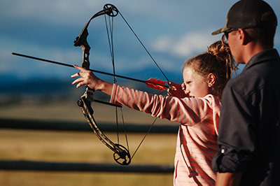 Guided Archery Activity