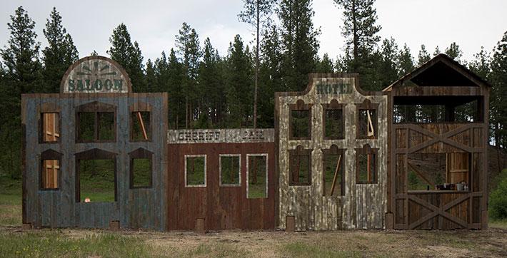 Old West .22 Rifle Range