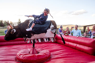 Fourth of July - Mechanical Bull Ride