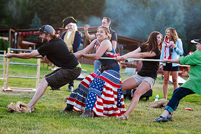 Fourth of July - Tug of War