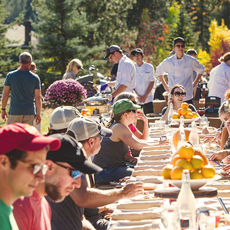 Montana Long Table - Artisanal Picnic
