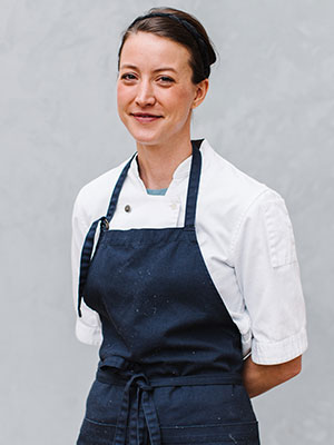 Chef Julia Sullivan