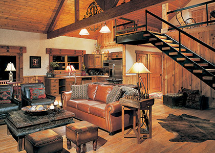 Timber Home Interior
