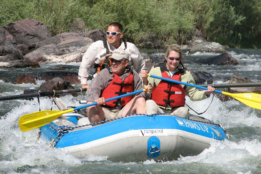 Rafting on the Blackfoot River