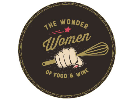 The Wonder Women of Food and Wine Postcard