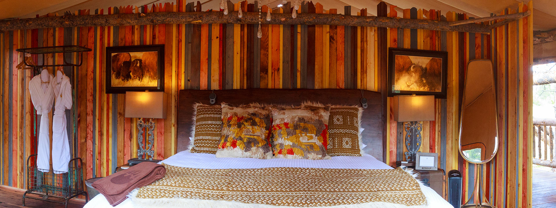 Glamping In Luxury Tents