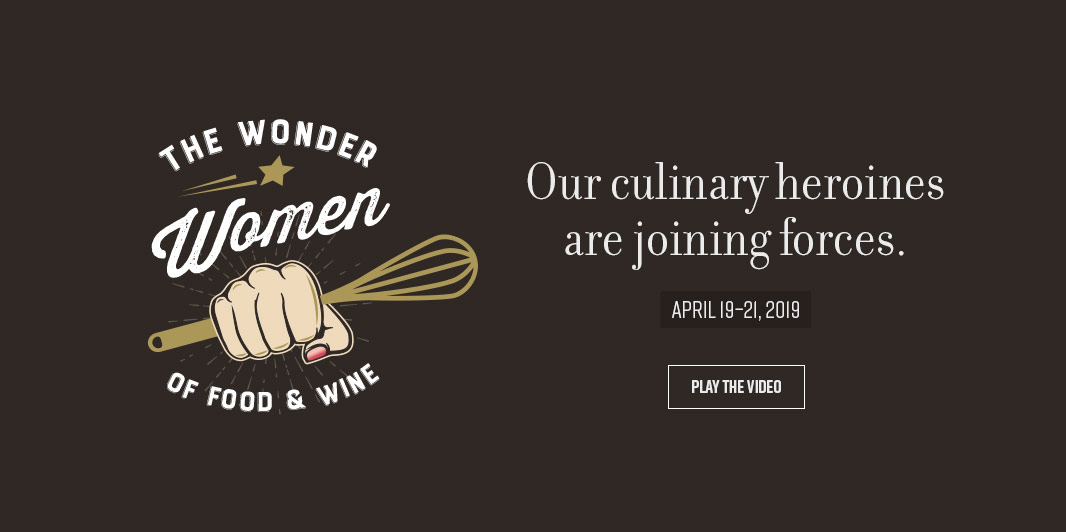 The Wonder Women of Food and Wine