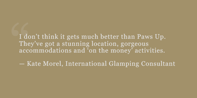 Kate Morel, International Glamping Consultant