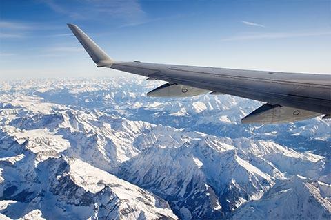 Flying to Missoula