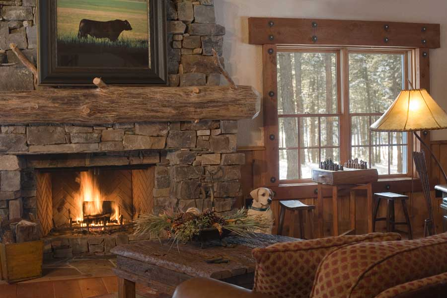 Large montana vacation home rates the resort at paws up big timber homes image description teraionfo