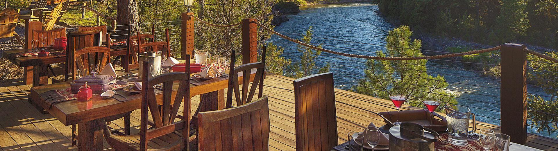 Cliffside Camp Dining Pavilion