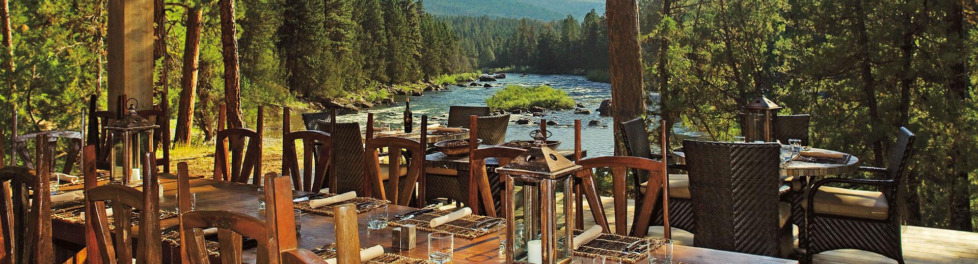 River Camp Dining Pavilion