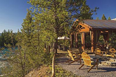 Cliffside Camp - Dining Pavilion