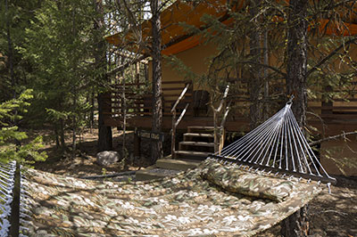 Cliffside Camp - Relax in a Hammock