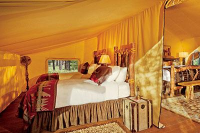 Creekside Camp Tent - Interior