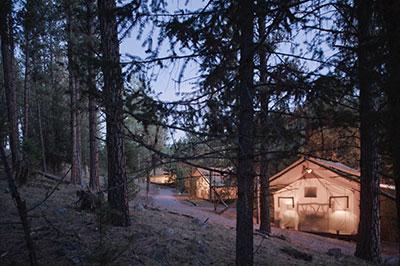 Creekside Camp Tent - Exterior