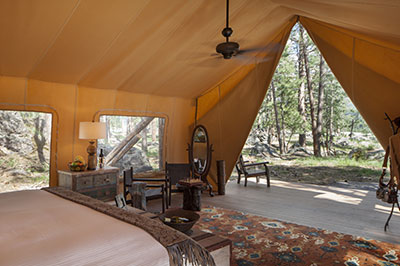 Moonlight Camp Tent - Interior