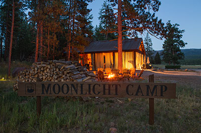 Moonlight Camp - Dining Pavilion