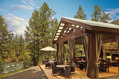 Pinnacle Camp Tent - Dining Pavilion