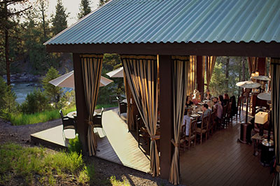 Pinnacle Camp - Dining Pavilion