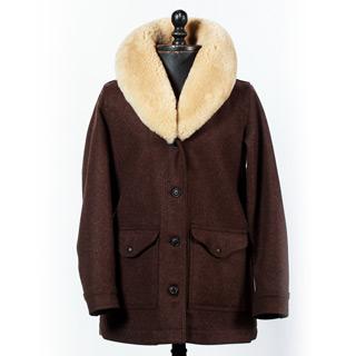 FILSON WOOL TRAPPER COAT