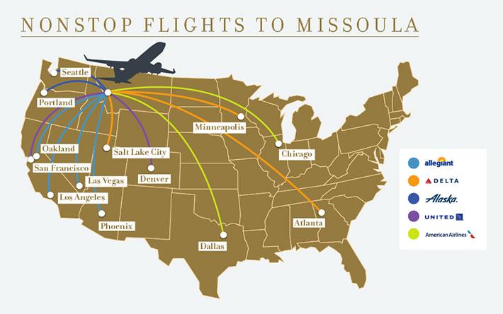Flights to Missoula