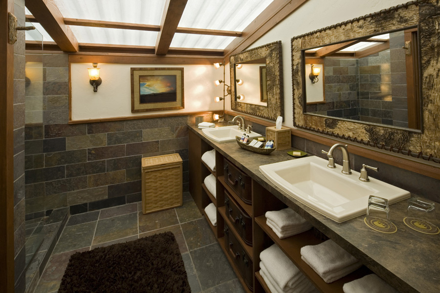 ... of which even come with an attached luxurious bathroom .