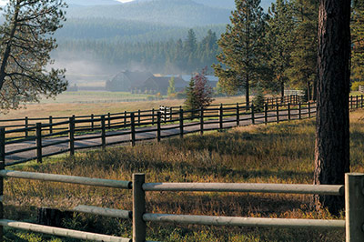Montana's premier luxury ranch resort