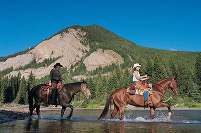 Montana Honeymoon Horseback Riding for Two