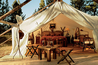 Montana Honeymoon Tent