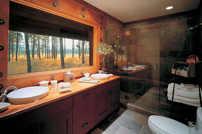 Big Timber Homes - Bathroom