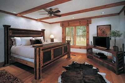 Big Timber Homes - Bedroom