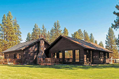 Montana Guest Ranch Accommodations Blackfoot River Lodge The