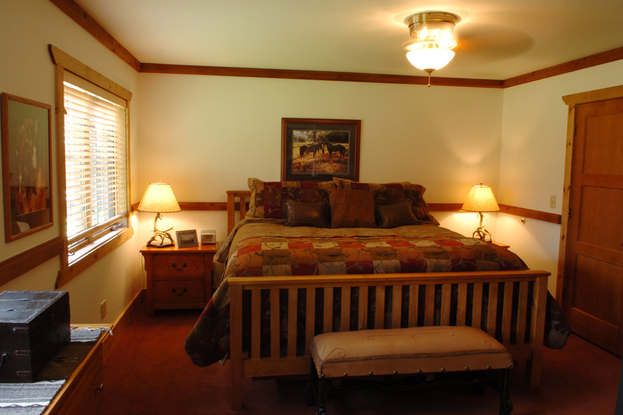 Meadow Home  Great Room Meadow Home  Bedroom. Montana Guest Ranch Accommodations   Meadow Homes   The Resort at