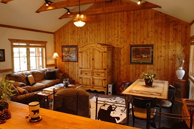 Meadow Home: Great Room
