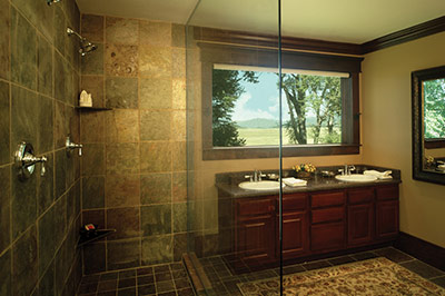 The Morris Ranch House - Bathroom