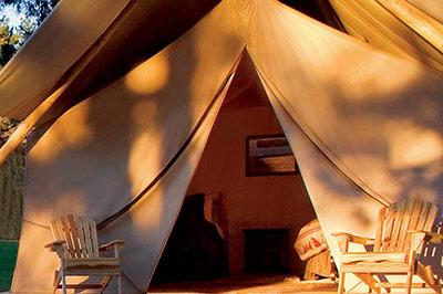 The Morris Ranch House - Backyard Tent