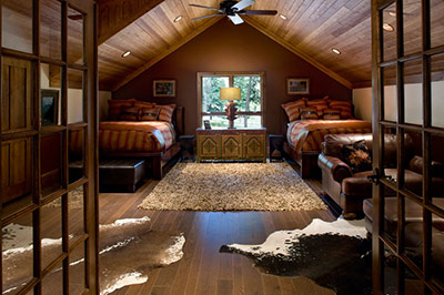 Wilderness Estates - Upstairs Bedroom