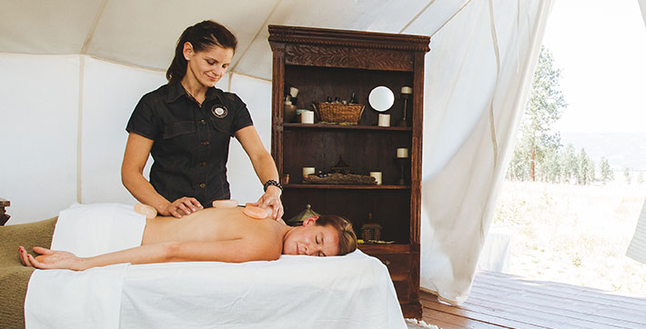 Paws Up Spa and Wellness Manager Laura Russell-Nygard
